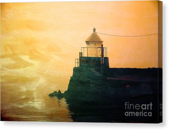 Fyllinga Lighthouse Canvas Print