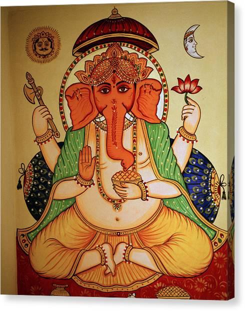 Spiritual India Canvas Print