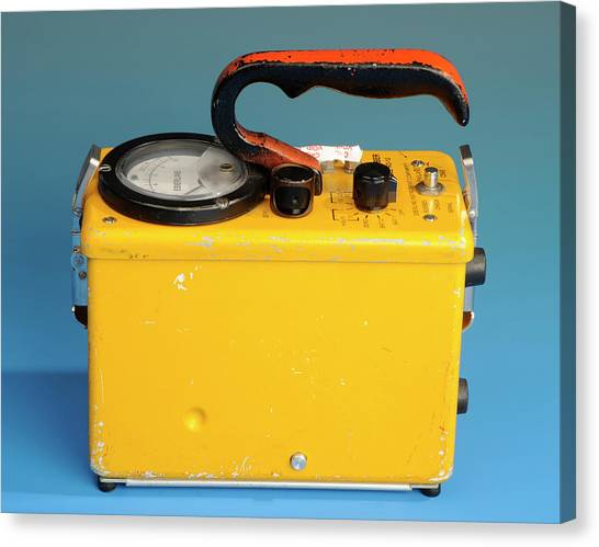 Electronic Instruments Canvas Print - Geiger Counter by Public Health England