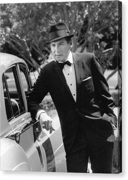 Gene Barry Canvas Print by Silver Screen