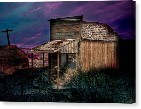 General Store Canvas Print