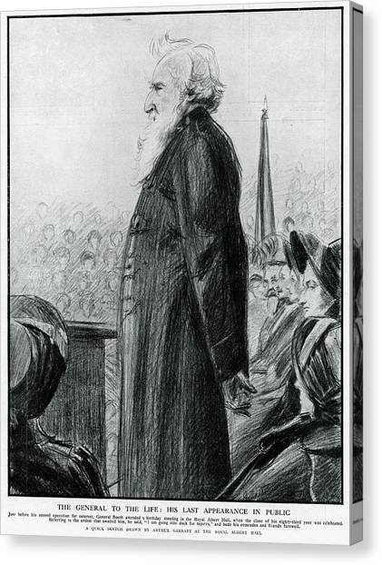General William Booth  Founder Canvas Print by Mary Evans Picture Library