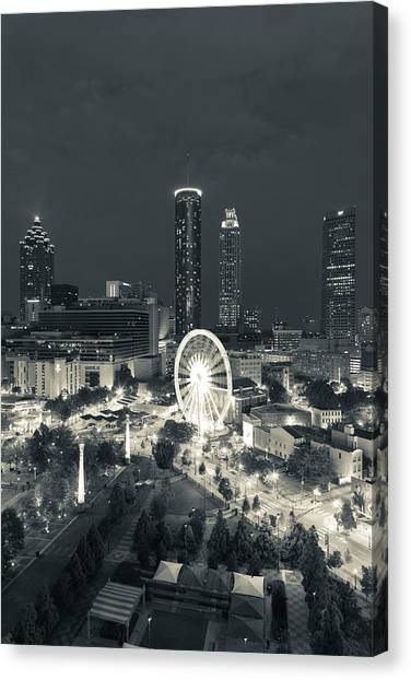 Centennial Canvas Print - Georgia, Atlanta, Centennial Olympic by Walter Bibikow