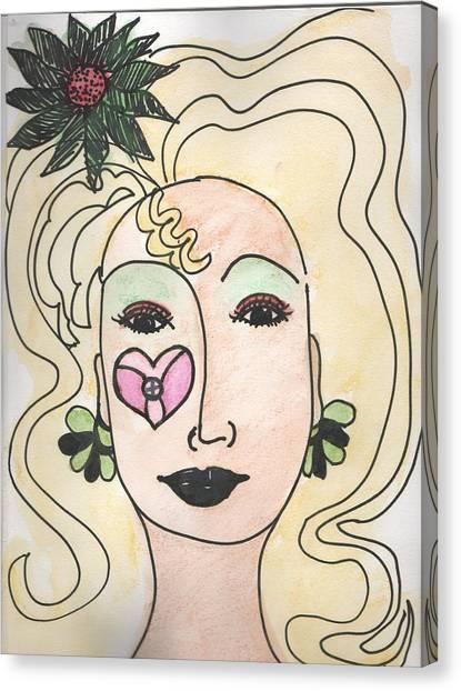 Goddess Three Canvas Print