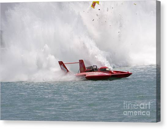 Gold Cup Hydroplane Races Canvas Print