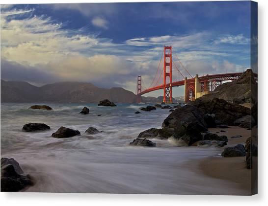 Golden Gate Bridge Canvas Print by Evgeny Vasenev