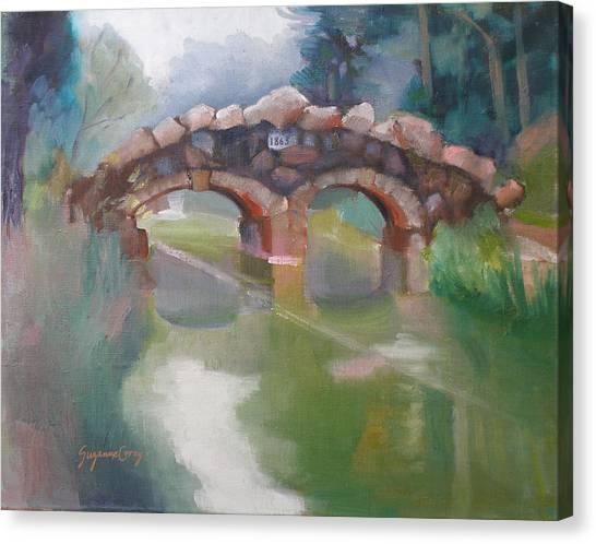 Golden Gate Park Footbridge Stowe Lake Canvas Print