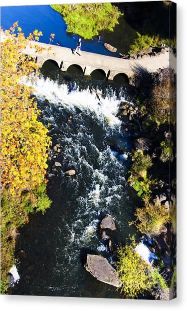 Cataract Canvas Print - Gorge Bridge by Jorgo Photography - Wall Art Gallery