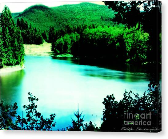 Gorge Waterway Victoria British Columbia Canvas Print
