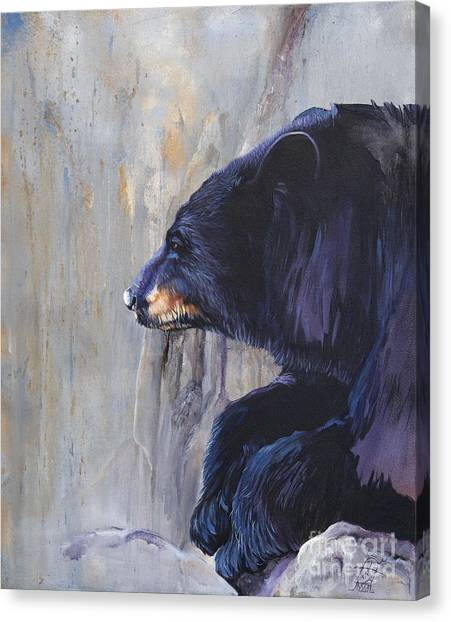 Grandfather Bear Canvas Print