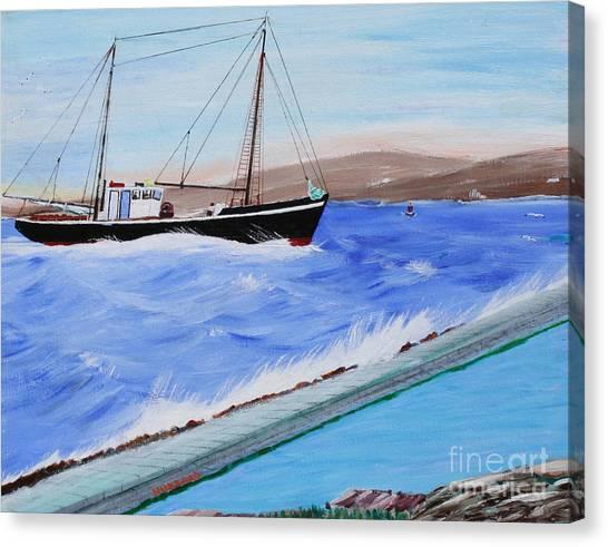 Grandpa's Boat Canvas Print