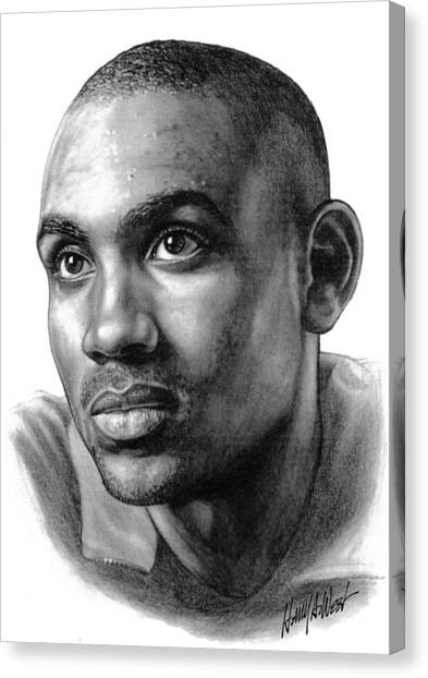 Phoenix Suns Canvas Print - Grant Hill by Harry West