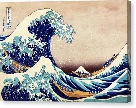 Great Wave Off Kanagawa Canvas Print