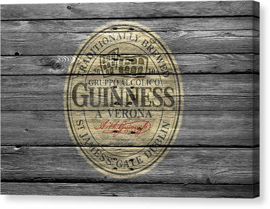 Beer Can Canvas Print - Guinness by Joe Hamilton