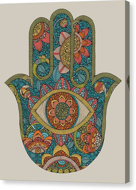 Canvas Print - Hamsa by Valentina