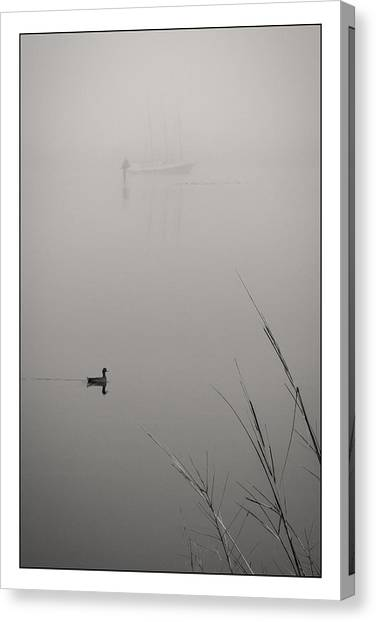 Harbor Fog No.2 Canvas Print
