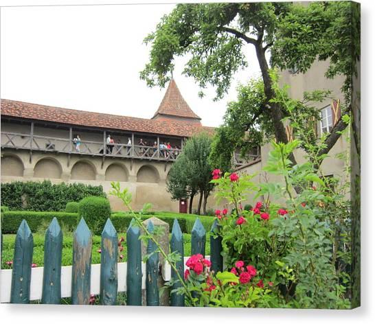 Harburg Castle Canvas Print