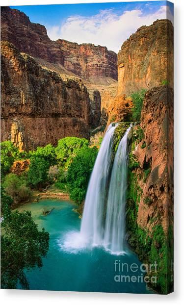 Colorado River Canvas Print - Havasu Canyon by Inge Johnsson