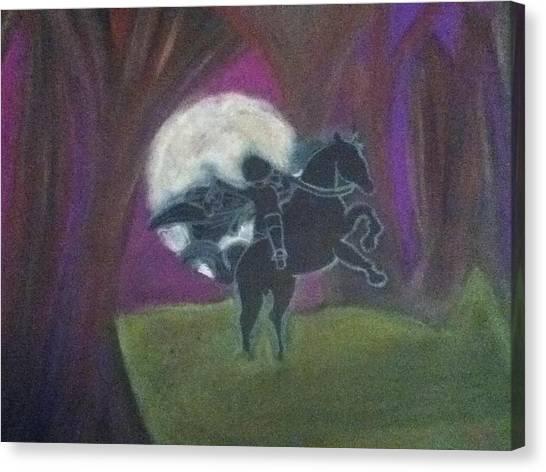 Headless Horseman  Canvas Print by Kae Mangan