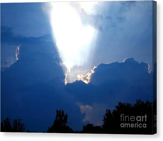 Heart Of God Canvas Print