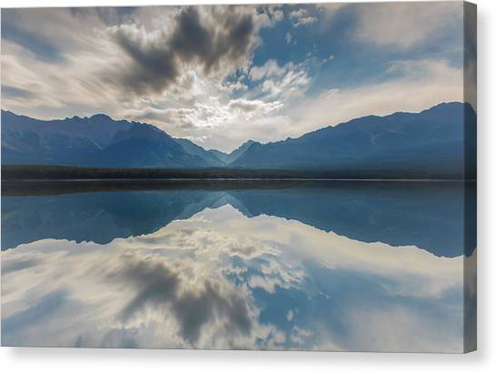 Heaven On Earth Canvas Print by Laura Bentley