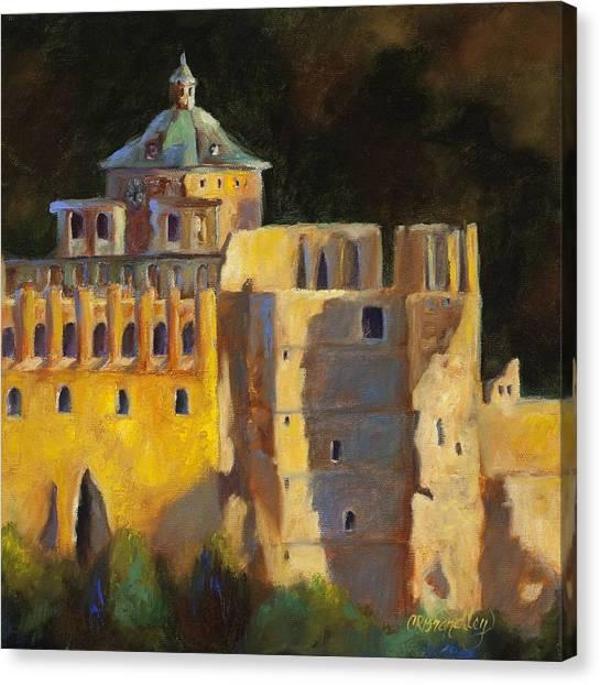 Heidelberg Schloss Canvas Print