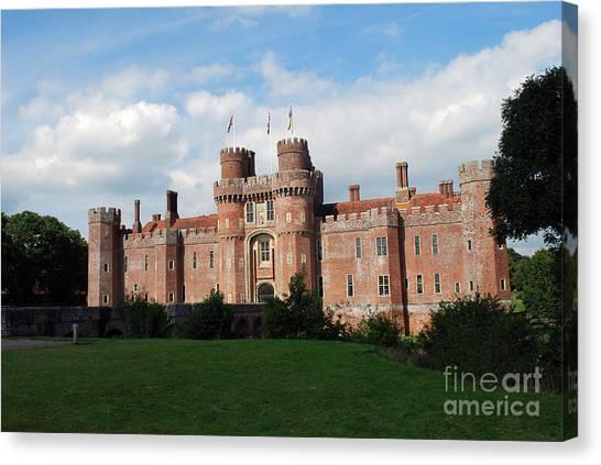 Herstmonceux Castle Canvas Print