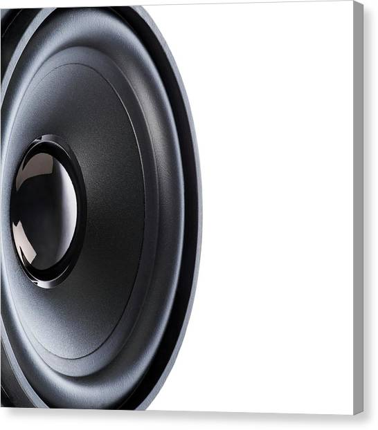 Speakers Canvas Print - Hifi Loudspeaker by Science Photo Library