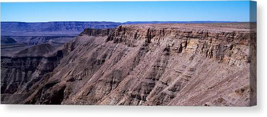 Angle Fishes Canvas Print - High Angle View Of A Canyon, Fish River by Panoramic Images