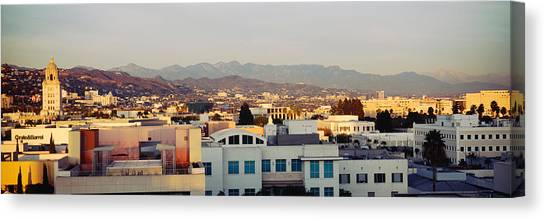San Gabriel Canvas Print - High Angle View Of A Cityscape, San by Panoramic Images