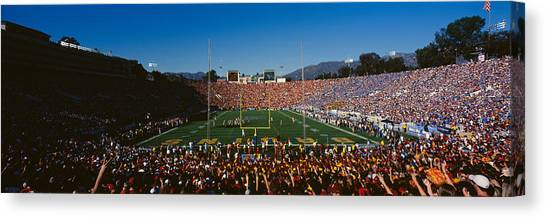 Ucla Canvas Print - High Angle View Of Spectators Watching by Panoramic Images