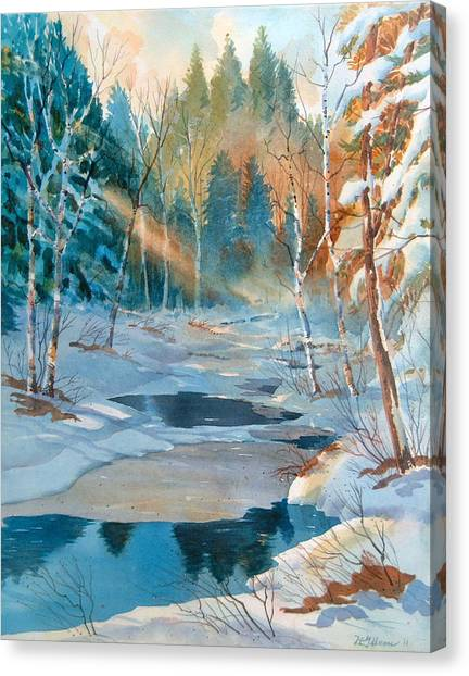 Hinchinbrooke Creek In Spring Canvas Print