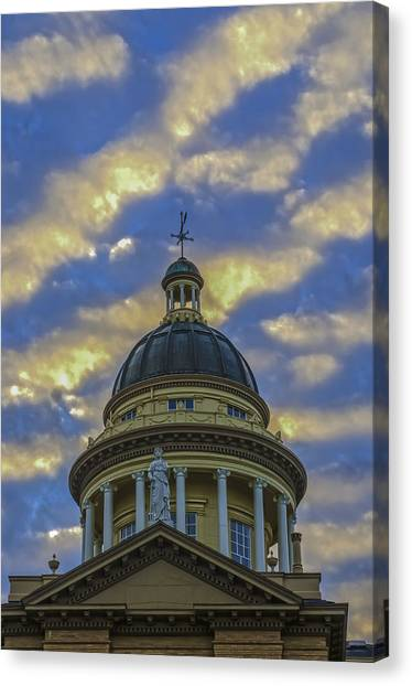 Historic Auburn Courthouse Canvas Print