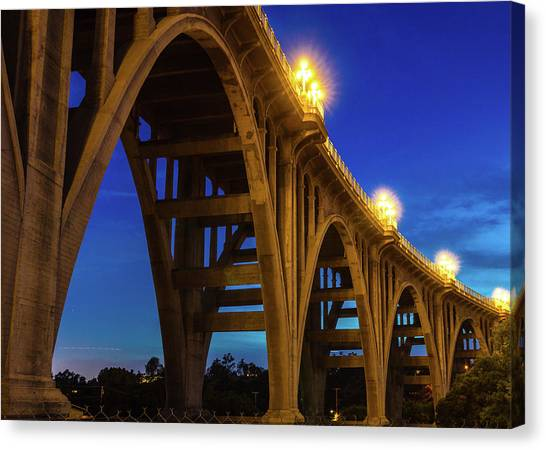 Historic Route 66 Canvas Print - Historic Colorado Bridge Arches by Panoramic Images