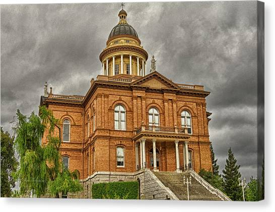 Historic Placer County Courthouse Canvas Print