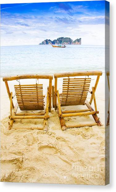Phi Phi Island Canvas Print - Holiday In Thai Paradise by Jorgo Photography - Wall Art Gallery