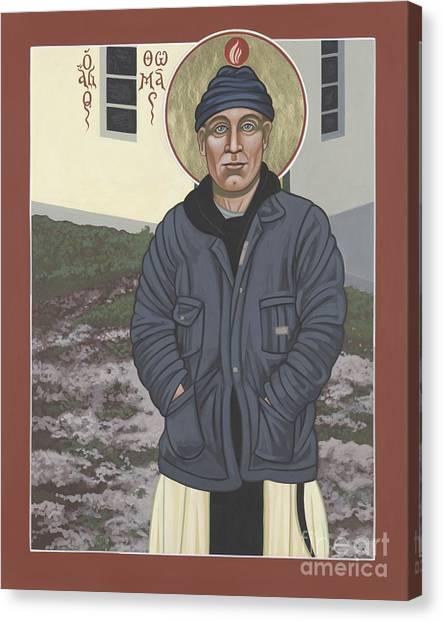 Holy World Evangelist Thomas Merton 267 Canvas Print