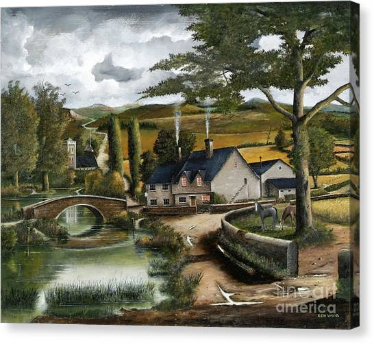 Home Farm Canvas Print