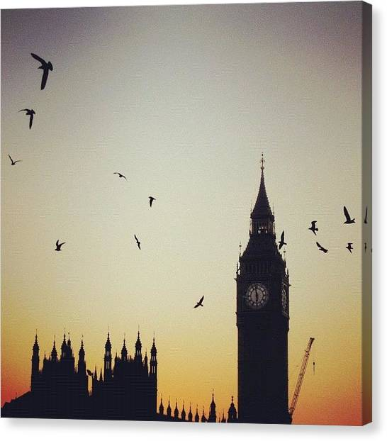 Big Ben Canvas Print - Houses Of Parliament by Chris Brown