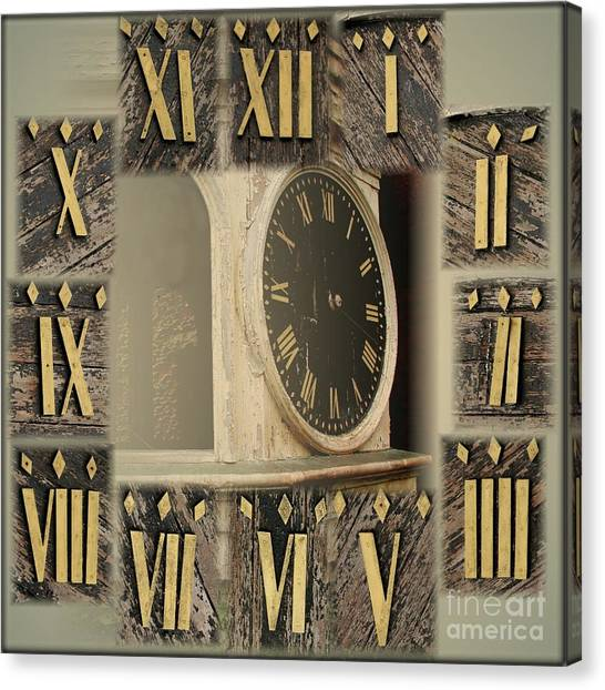 How Time Flies Canvas Print