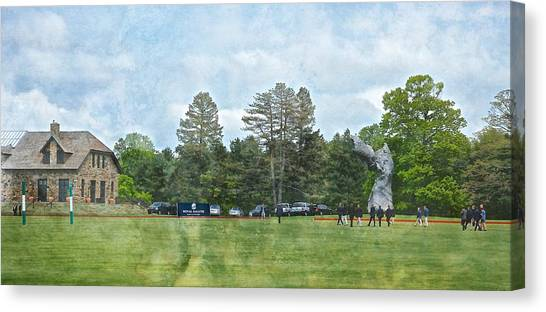 Hrh Prince Harry And Greenwich Polo Club Canvas Print