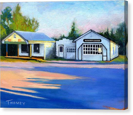 Huckstep's Garage Free Union Virginia Canvas Print