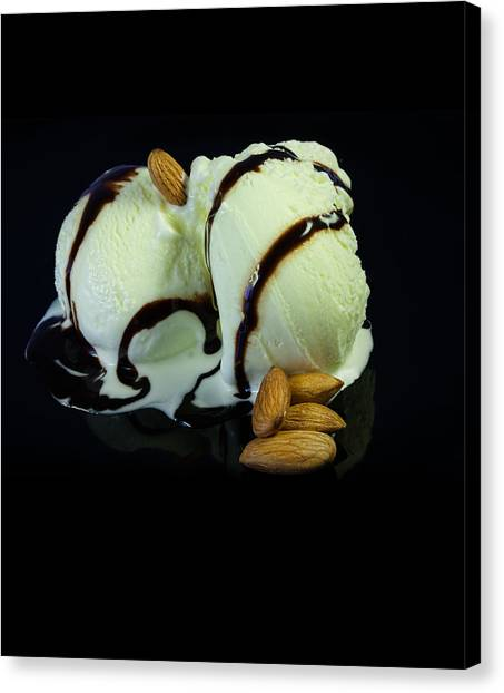 Ice Cream Cup Canvas Print