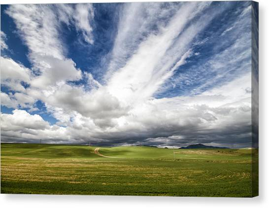 Idaho Sky Canvas Print