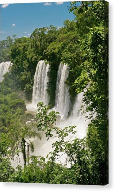 Iguazu Falls Canvas Print - Iguazu Falls by Philippe Psaila/science Photo Library