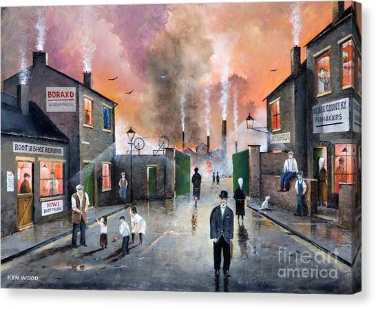 Images Of The Black Country Canvas Print