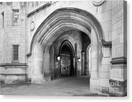 Indiana University Memorial Hall Canvas Print