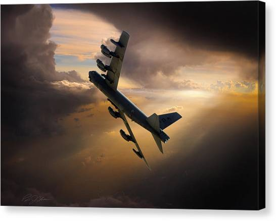Cold War Canvas Print - Into The Light by Peter Chilelli