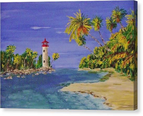 Into The Tropics Canvas Print