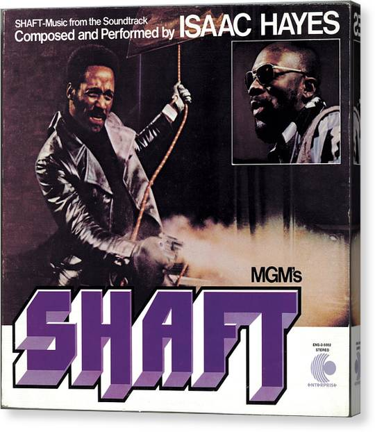 Soul Canvas Print - Isaac Hayes -  Shaft by Concord Music Group